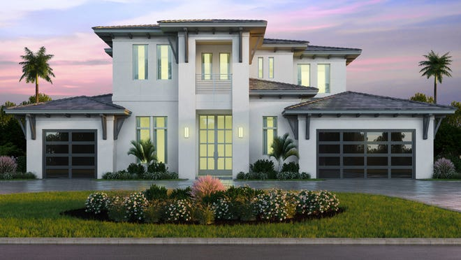 Clive Daniel Home's interior design team of Michael Scott and Thomas Riker have provided design services for the 4,601 square foot, four-bedroom, five bath Forge Construction spec home in the Moorings.