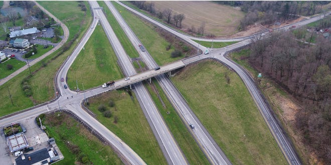 When all work is completed, the Ohio 37 bridge to-and-from Granville will have been widened to four lanes. The project was expected to conclude in autumn 2021, but some aspects are now expected to possibly extend into 2022.