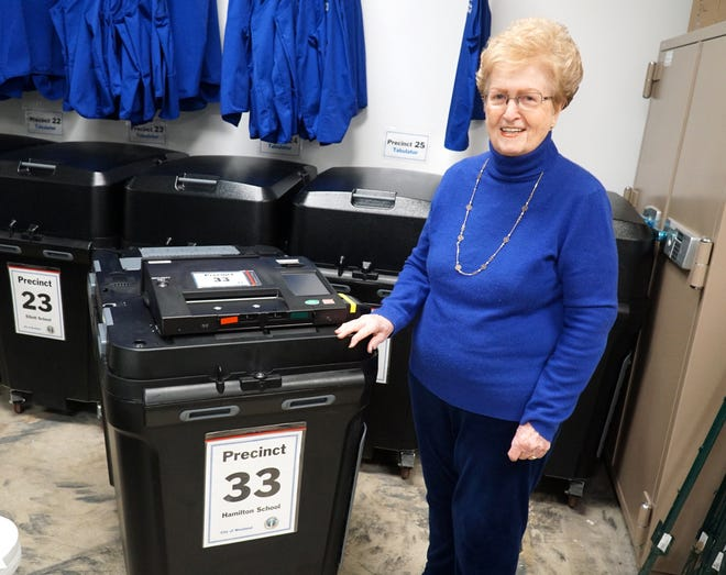 Nancy Ruby has gotten very familiar with Precinct 33 in the City of Westland as she's helped with every election there since the 1960s.