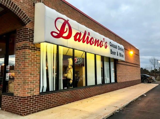 Daliono's of Marysville will remain open for takeout during the extended 12 days of having its dining room closed at 3150 Gratiot Blvd.