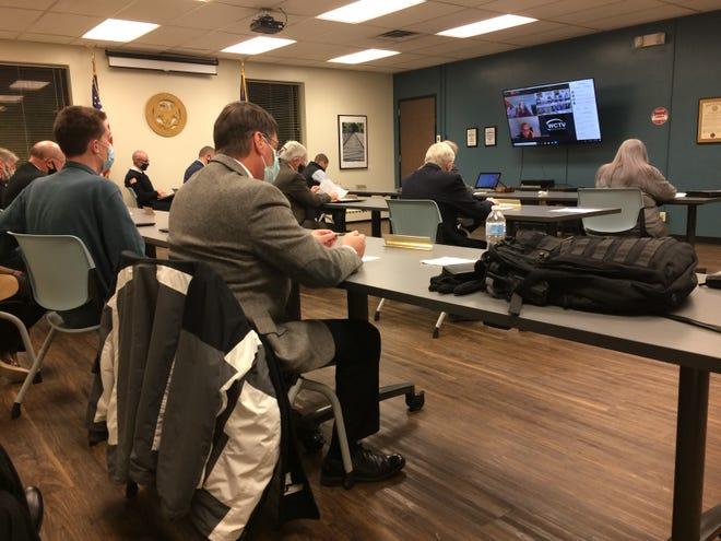 Richmond Common Council met Monday, Dec. 7, 2020, inside the Hutton Room of the Richmond Municipal Building.