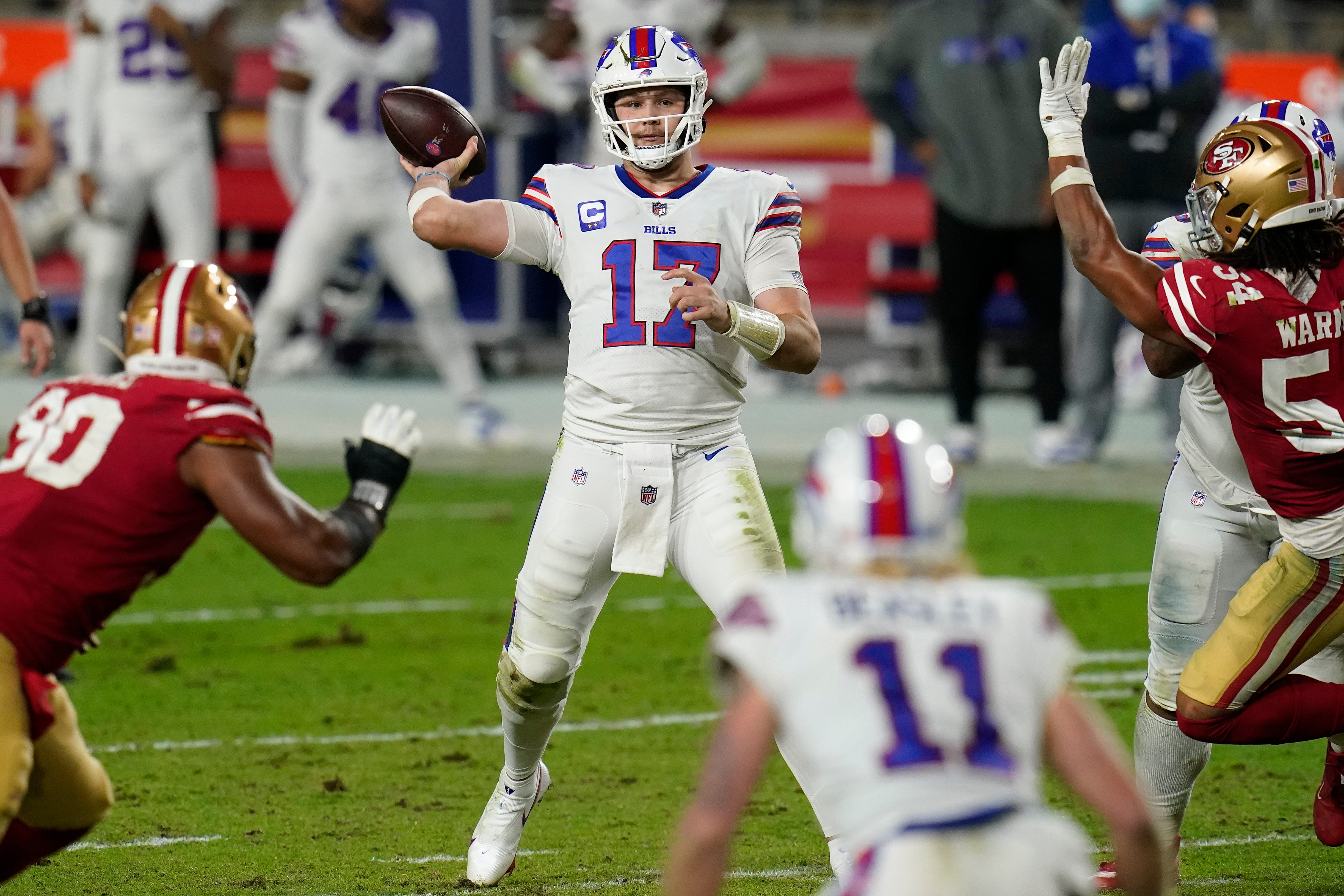 Opinion: Josh Allen's strong arm powering Buffalo Bills toward first AFC East title in 25 years