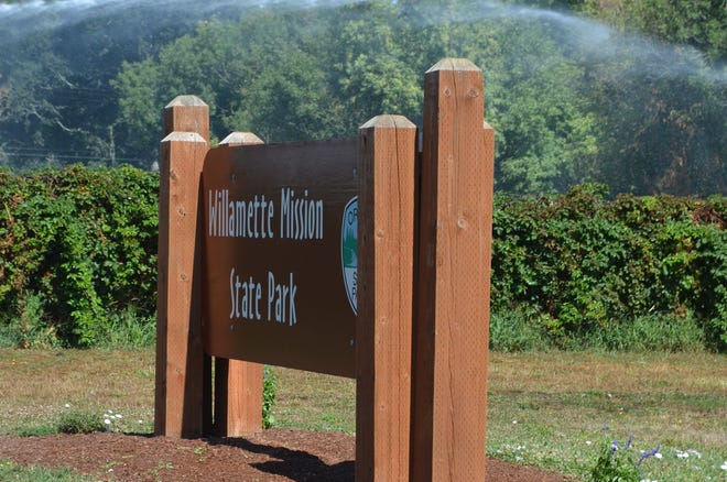 Willamette Mission State Park near the Wheatland Ferry is a great place to spend the day exploring and fishing
