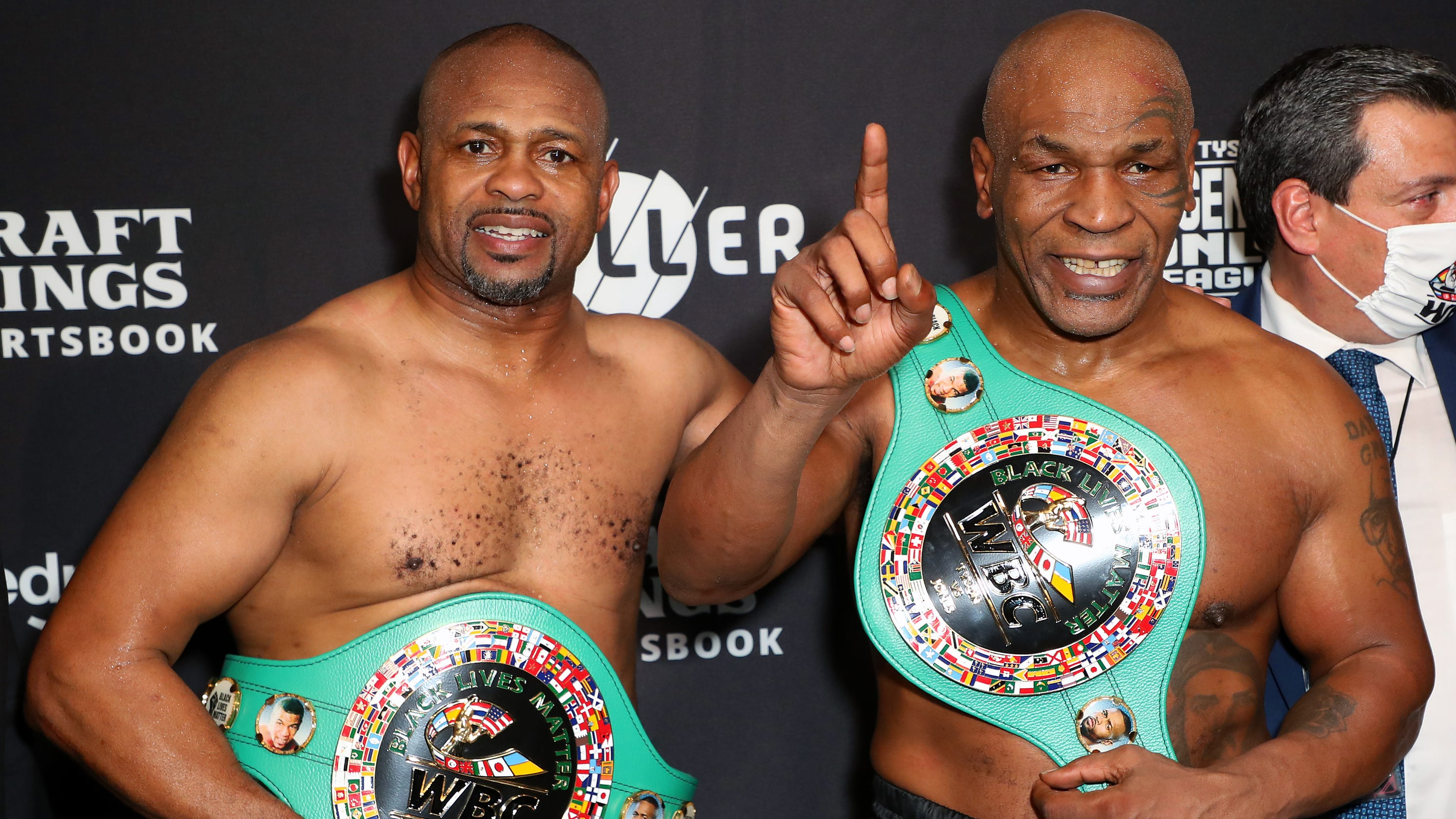 Mike Tyson's return to boxing against Roy Jones Jr. generated more than $80 million in revenue