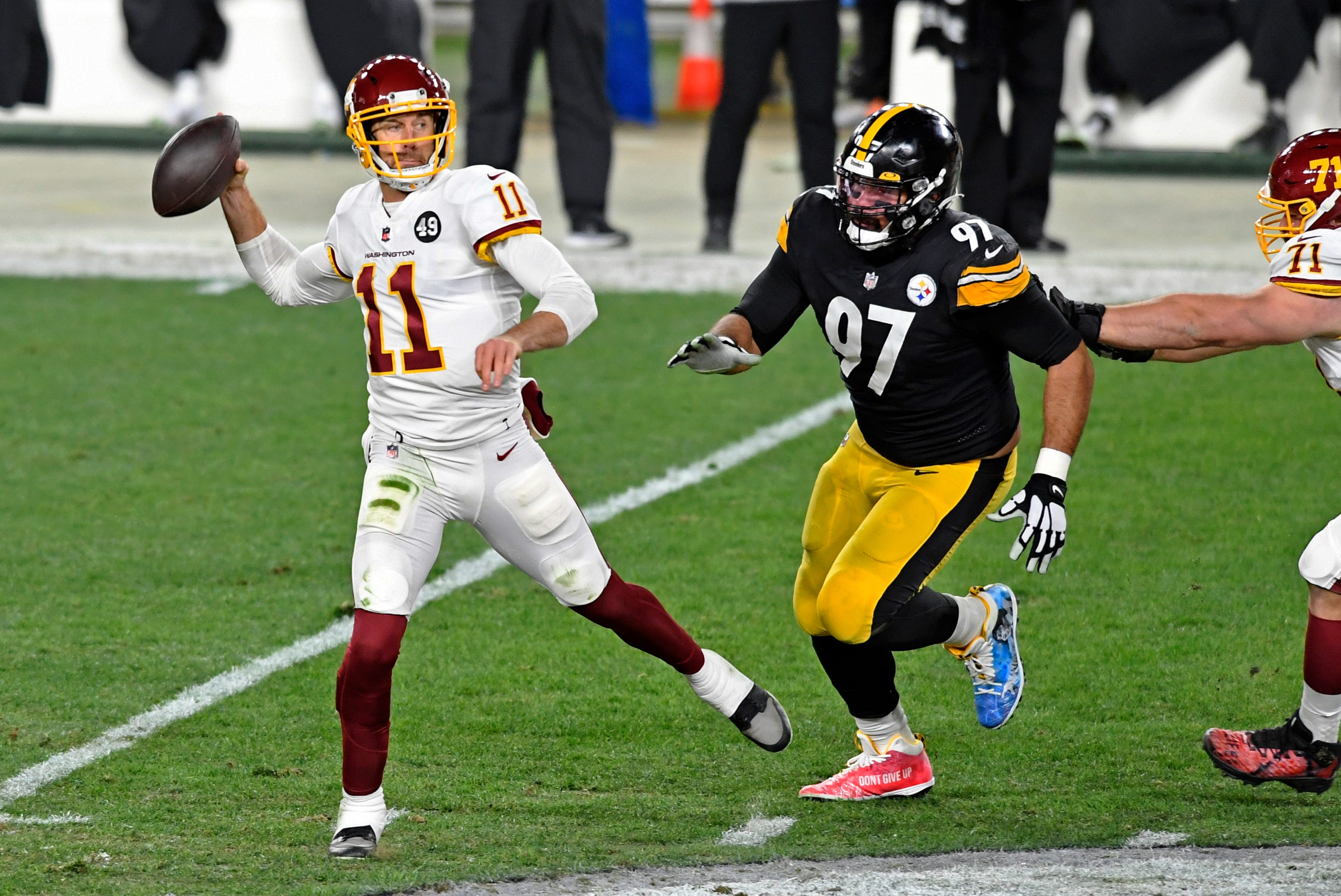 Undefeated no more: Steelers' unbeaten run comes to an end as Washington rallies to wild win