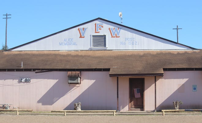 Veterans of Foreign Wars (VFW)  Post 8621 in Alice, Texas.