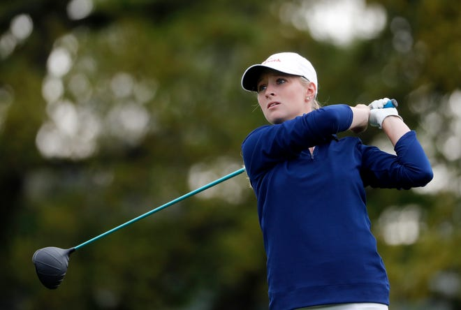 Texas golfer Kaitlyn Papp, teeing off in the 2019 Augusta National Women's Amateur, will compete in this weekend's U.S. Women's Open in Houston. The former Lake Travis star has one more season of college golf this upcoming spring.