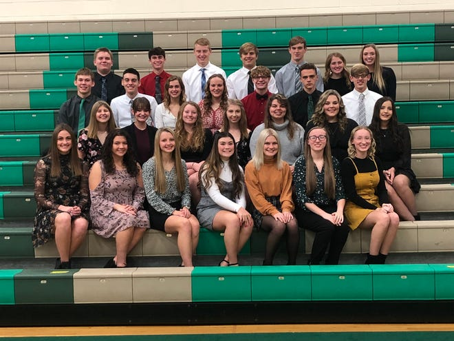 West Branch High School conducted a ceremony Nov. 23 to induct students into its National Honor Society.