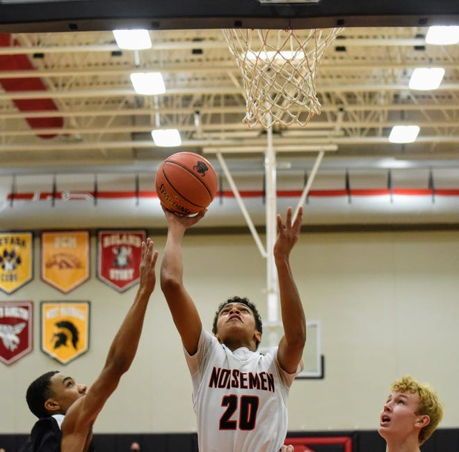 Freshman guard Jonovan Wilkinson is making a name for himself early on for the Roland-Story boys' basketball team. Wilkinson is averaging 12.0 points, 8.0 rebounds and 3.0 assists for the Norsemen in wins over Gilbert and Nevada.