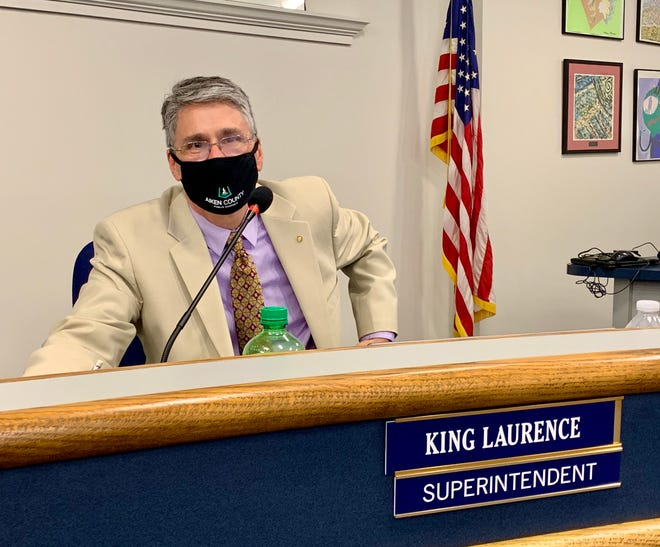 Aiken County Schools Superintendent King Laurence now the authority to independently change schools'instruction models based on their respective amounts of coronavirus spread based on a decision by the Aiken County school board on Tuesday.