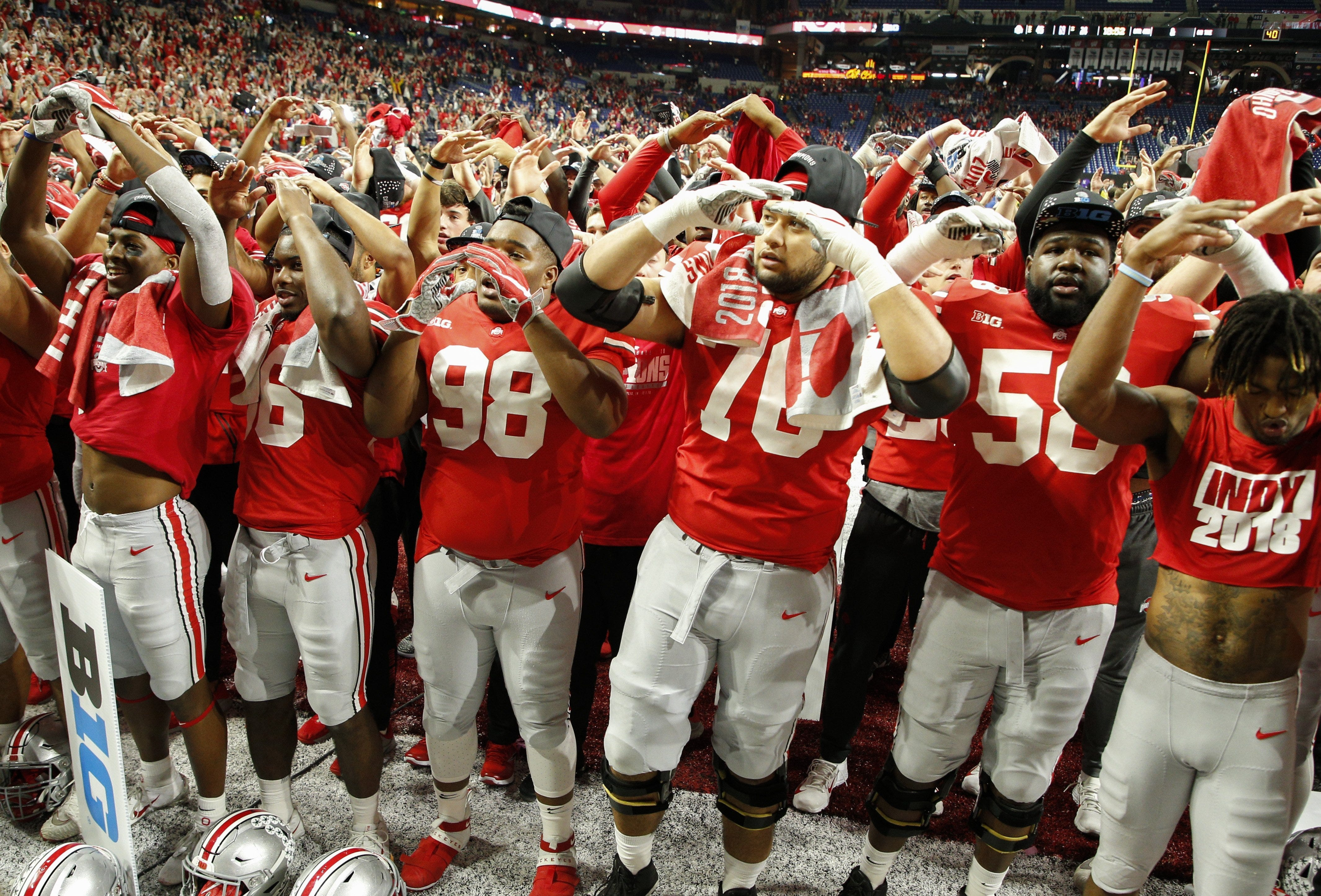Big Ten amends rule allowing Ohio State to play in conference title game