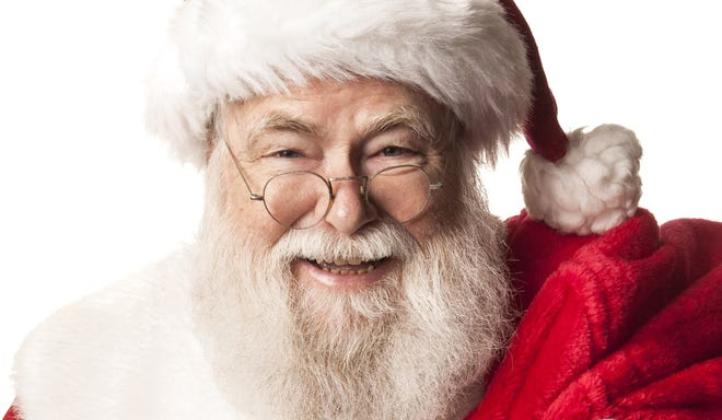 Santa Claus will visit the Union Bank in Gahanna this Saturday.