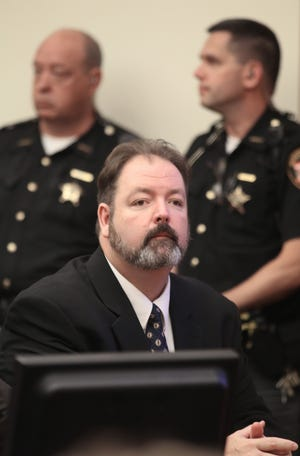 In this 2013 file photo, Lawrence Dibble appears in Franklin County Common Pleas Court. (Columbus Dispatch photo by Tom Dodge)