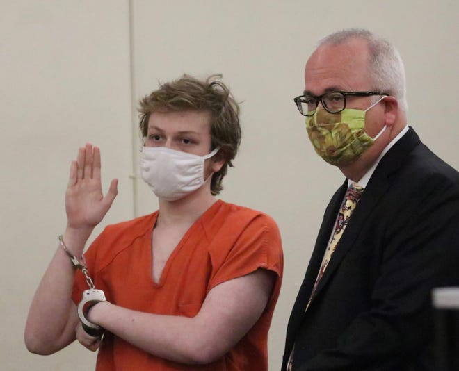 Gregory Ramos entered guilty pleas on Wednesday to killing his mother and disposing of her body in 2018.