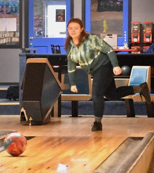 A Camden bowler participates in a match last season. The Center State Conference and Tri-Valley League have both postponed the bowling seasons until at least Jan. 4.