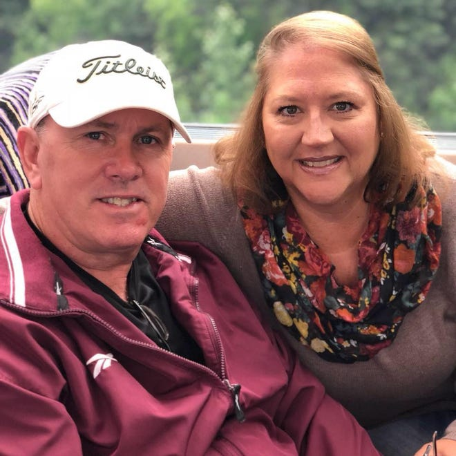 Scott Carpenter, assistant director of Marion Technical College, lost his wife Toni, 54, a heart technician, to COVID-19 on Nov. 6.