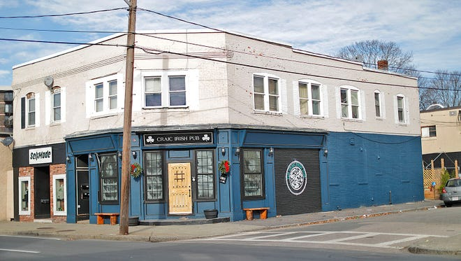 The Craic Irish Pub on Washington Street, Quincy on Wednesday, Dec. 9, 2020. Greg Derr/The Patriot Ledger