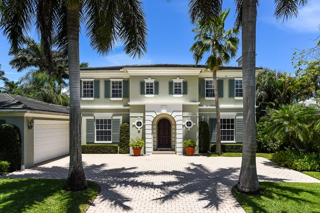 Built in 1999, a Palm Beach house at 251 Tangier Ave. sold for $7.61 million after being listed for sale at the tail end of July, records show.