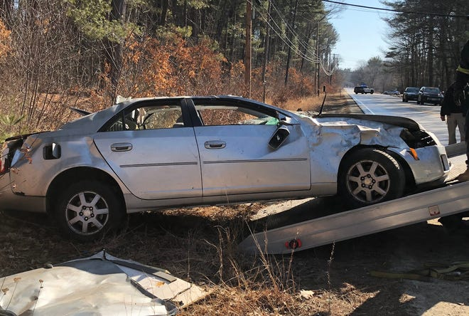 A teenager was medflighted following a single-vehicle crash March 3, 2020 on Old Dover Road in Rochester.