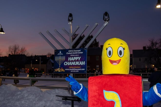 On Sunday, Dec. 13, the Labrie Family Skate rink, on the grounds of the Strawbery Banke Museum in Portsmouth, has been rented out by the Chabad, for a lighting of their large menorah. Hanukkah on Ice will take place from 2 to 4 p.m. and is free of charge for registrants.