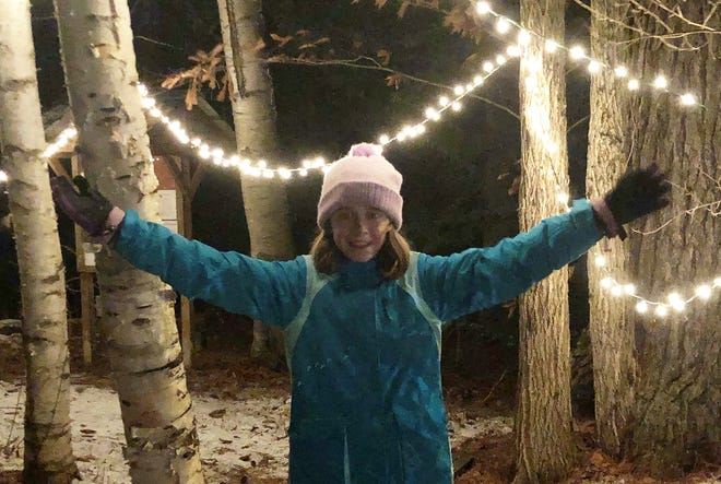 The Peach Project was created in 2015 by then 6-year-old Georgia Merrill, who is now a sixth grader at the Cooperative Middle School in Exeter. After encountering a person on the street begging for food for the first time –  a life altering moment for her – she made it her mission to raise money to help feed the hungry.