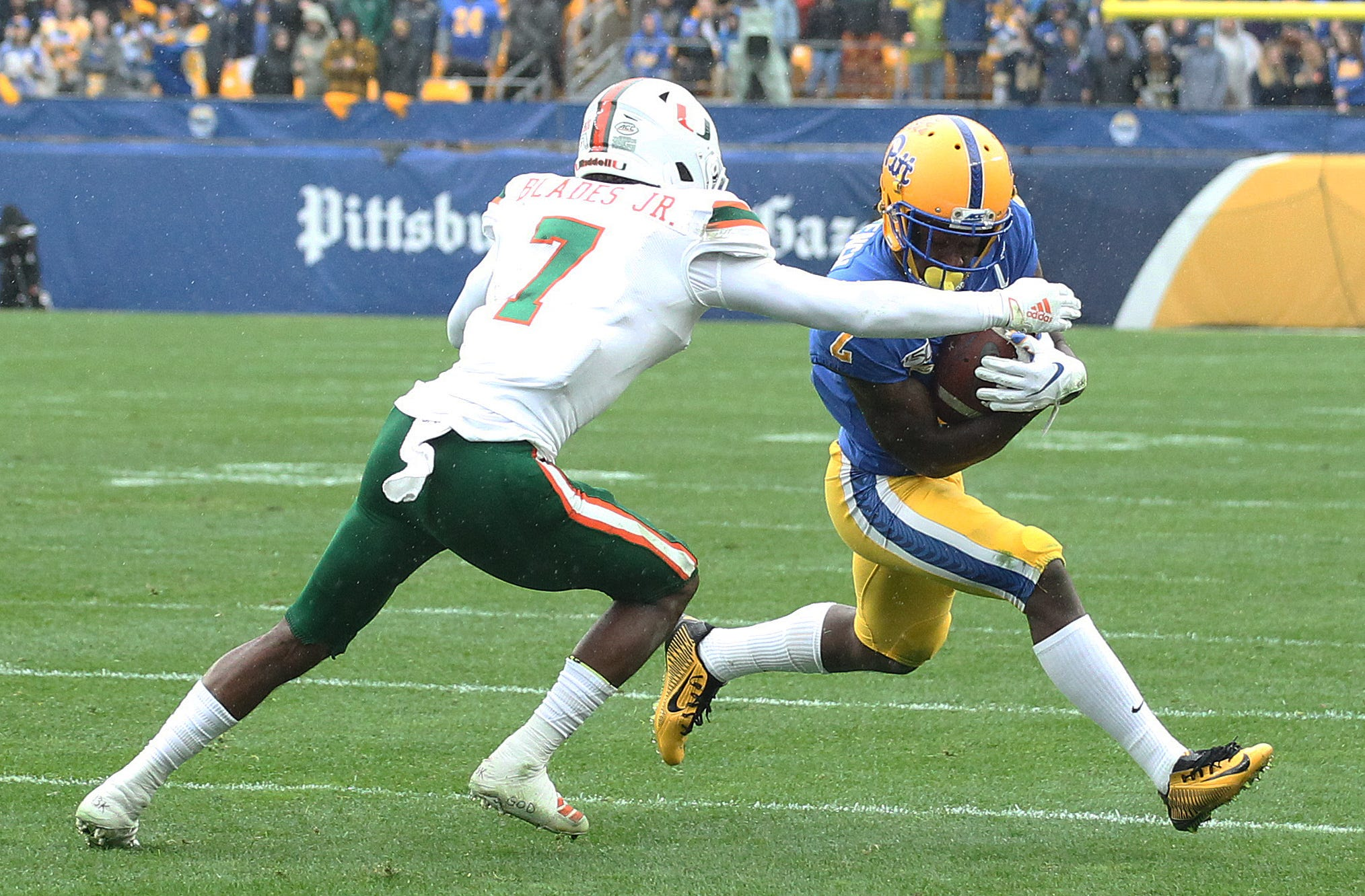 College football COVID update: Miami's Al Blades Jr. out for season with myocarditis