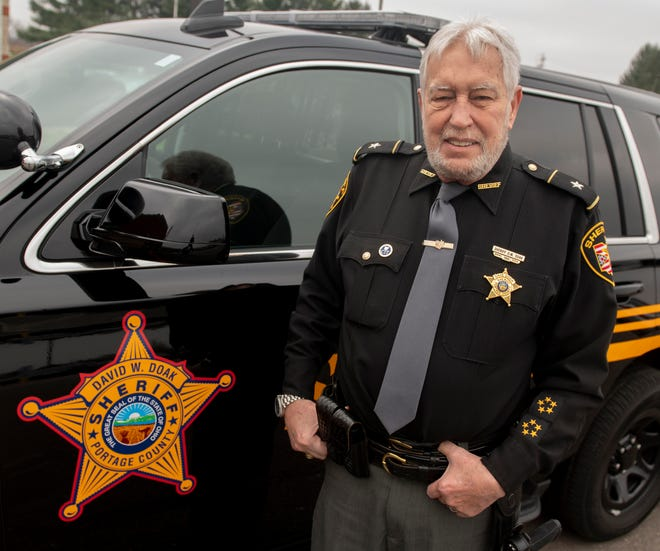 Portage County Sheriff David Doak will retire at the beginning of January after 12 years on the job.