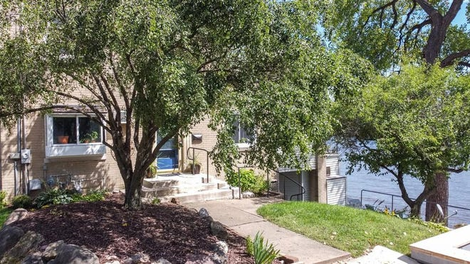 This riverfront home at 957 Indian Terrace in Rockford is on the market for $215,900.