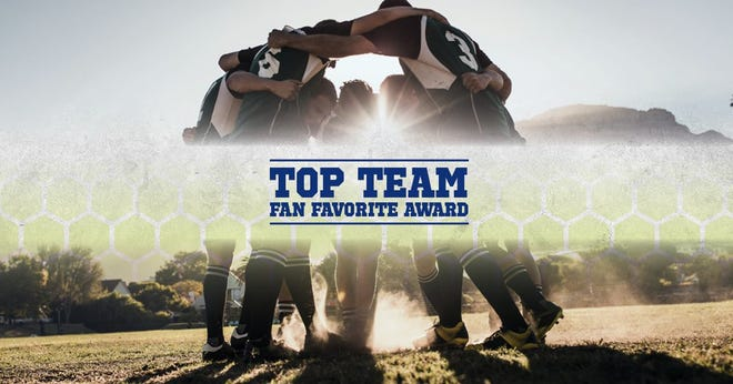 The winner of the Blue Diamond Top Team Fan Favorite Award will be announced during the USA TODAY High School Sports Awards and will receive a trophy after the on-demand broadcast.