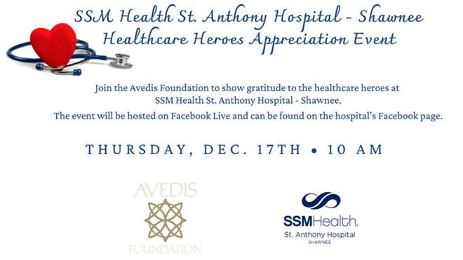 The Avedis Foundation is inviting everyone in the community to rally around local health care professionals next week in appreciation of their service through the pandemic crisis.