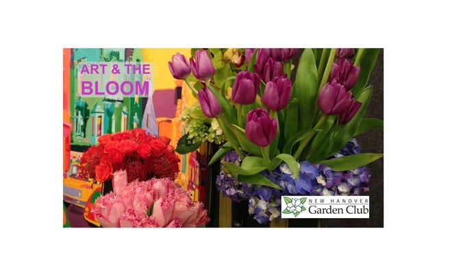 New Hanover Garden Club's Art And The Bloom will be held Jan. 7-10, 2021 at the Blockade Runner Beach Resort in Wrightsville Beach.