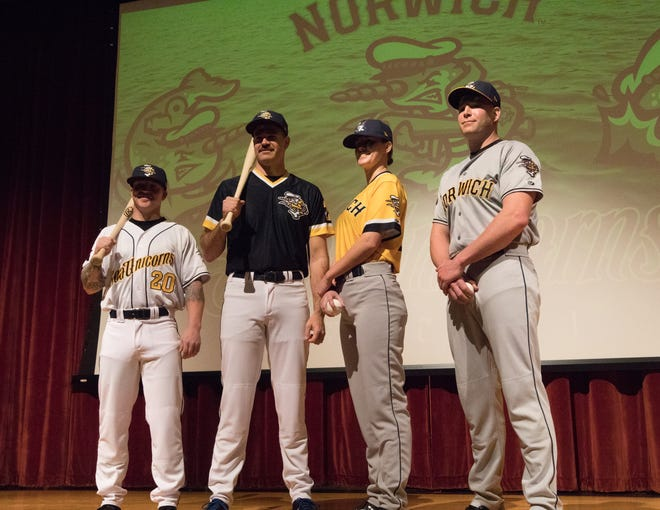 The Norwich Sea Unicorns uniforms were unveiled at a ceremony in Norwich last December. The team announced on Wednesday that they are no longer affiliated with the Detroit Tigers.