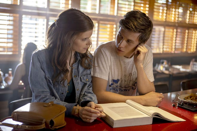 "Kate Mara as Claire Walker and Nick Robinson as Eric Walker in ""A Teacher."""