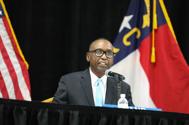 Commissioner Charles Evans was elected as the chairman of the Cumberland County Board of Commissioners for 2021.