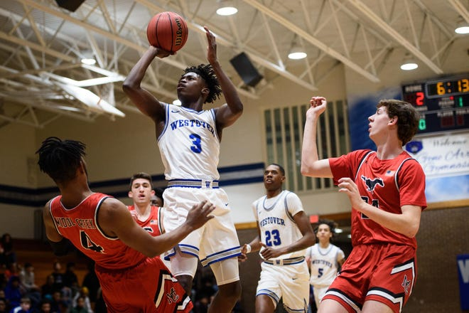 Westover's D'Marco Dunn, who in November signed to play college basketball at North Carolina, vaulted more than 30 spots in ESPN's recruiting rankings.