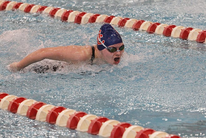 Junior Hannah Routh is the top returnee for the Grove City swimming and diving program. She was 16th in both the 100-yard butterfly and 100 backstroke in the Division I state meet last winter.