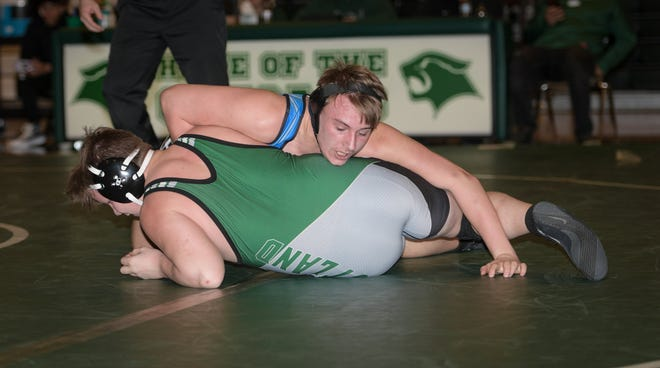 Michael Bradshaw is one of only three seniors on the Central Crossing wrestling team. The Comets' preseason has been limited to practices featuring pods of nine wrestlers and a coach because of the COVID-19 coronavirus pandemic.