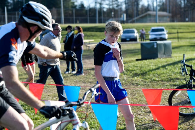 Area schools participated in a cross country meet at Jackson Park in Hendersonville December 9, 2020.
