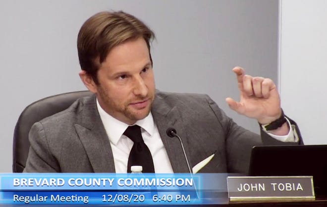 """Brevard County Commissioner John Tobia on Tuesday failed in getting approval for his bidto allow property owners of rent out residences on a short-term basis as """"vacation rentals"""" in many parts of unincorporated Brevard where such a practice now is not allowed."""