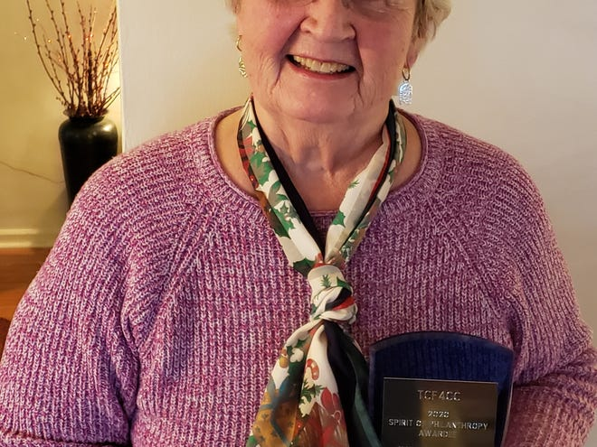 Judi Saurers is the winner of the 2020 Spirit of Philanthropy Award, presented by the Community Foundation for Crawford County.