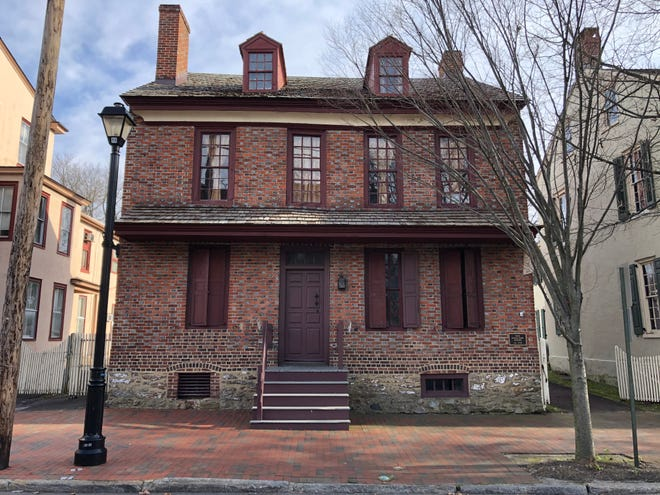 The Bard How house built in the 1700s will become part of a new   Children's History Center at the Burlington County Historical Society in Colonial Burlington City.