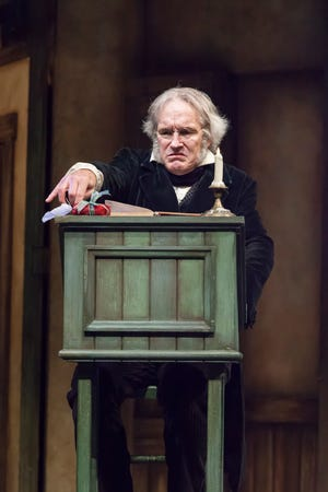 Typically, Cincinnati audiences get to see Bruce Cromer on the Playhouse in the Park stage as the callous Ebenezer Scrooge. This year, Cromer will be the sole actor in the Playhouse's radio presentation of the Charles Dickens classic.