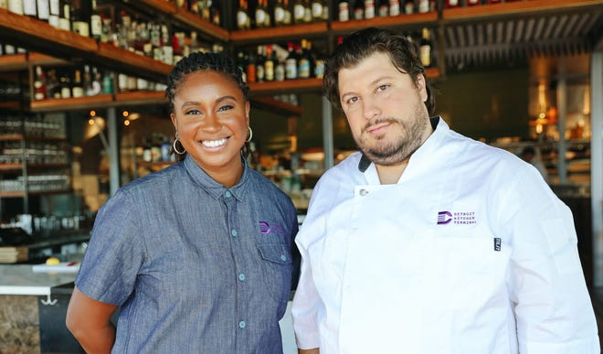 Detroit Kitchen Terminal co-founders Desiré Vincent Levy and chef Anthony Lombardo have launched a COVID-19 fundraiser for struggling restaurant and food-service workers who live within the Detroit border.