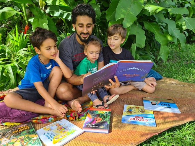 UOG Press offers Holiday Book Bundles including The Neni Reader, a set of eight books for children written in English and CHamoru.