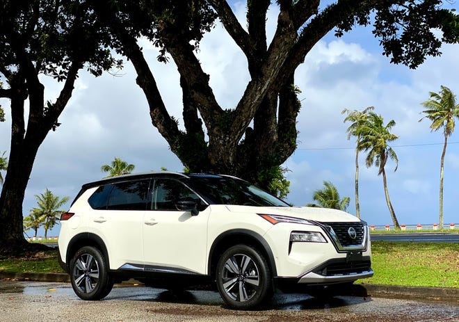 Nissan Guam has the redesigned 2021 Nissan Rogue.