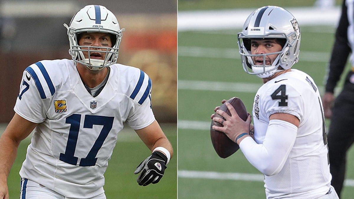 NFL Week 14: Colts vs. Raiders TV, odds, injuries, trends