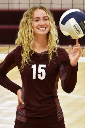 Jenna Vaske is the first Charyl Stockwell athlete to earn Livingston County Player of the Year in any sport.