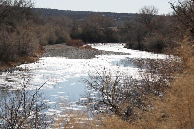 The Animas River is pictured, Monday, Dec. 8, 2020, near Cedar Hill.
