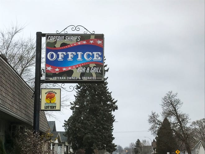 Captain Skrip's Office bar in Port Huron Township has had its liquor license reinstated after the state suspended it due to reported COVID rule violations, the owners said.