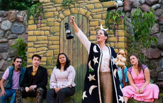 Actors perform in the South Dakota Shakespeare Festival's 2019 production of A Midsummer Night's Dream, directed by Madeline Sayet. The nonprofit recently earned a $5,000 grant to continue its work with the help of the Gannett Foundation.